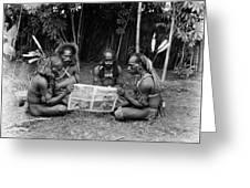 Silent Film Still: Natives Greeting Card