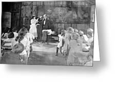 Silent Film Still: School Greeting Card by Granger