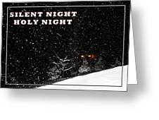 Silent Night Card Greeting Card