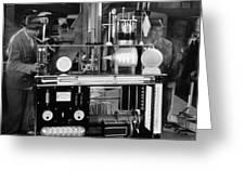 Silent Still: Laboratories Greeting Card