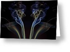 Silk Stockings Greeting Card