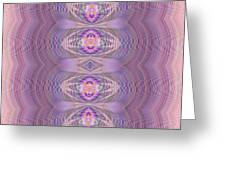Silky Violet Greeting Card