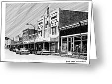 Silver City New Mexico Greeting Card