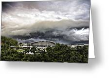 Silver Clouds V2 Greeting Card