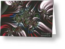 Silver Seedpods Greeting Card