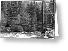 Silverton Bridge Greeting Card