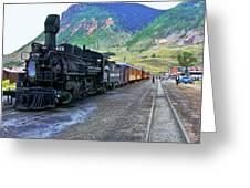Silverton Train Greeting Card