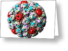 Simian Virus 40 Particle Greeting Card