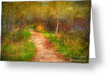 Simple Pathways Greeting Card