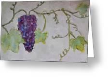 Simply Grape Greeting Card