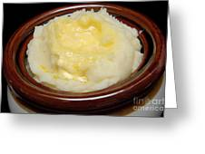 Simply Mashed Potatoes Greeting Card