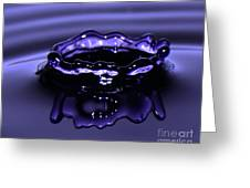 Simply Purple Greeting Card