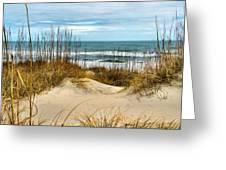 Simply The Beach Greeting Card
