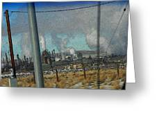 Sinclair Refinery Greeting Card