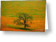 Single Tree Greeting Card