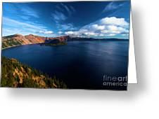 Sinott Crater Lake View Greeting Card