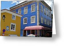 Sintra Portugal Buildings Greeting Card