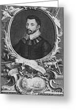 Sir Francis Drake, English Explorer Greeting Card by Photo Researchers, Inc.