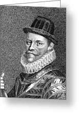 Sir John Hawkins (1532-1595) Greeting Card