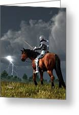 Sir Lightning Rod Greeting Card