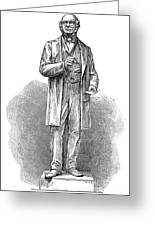 Sir Rowland Hill (1795-1879) Greeting Card by Granger