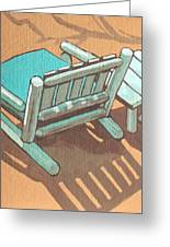 Sit Back And Relax Greeting Card