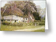 Six Bells Hollingbourne Kent  Greeting Card