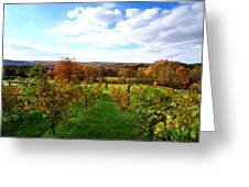 Six Miles Creek Vineyard Greeting Card