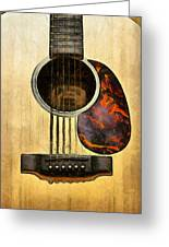 Six-string Acoustic Vi Greeting Card