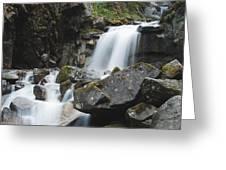 Skagway Waterfall 8619 Greeting Card