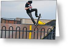 Skateboarding Ix Greeting Card