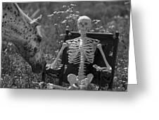 Skeleton In My Closet Greeting Card