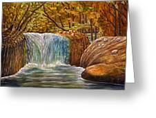 Skelwith Force Waterfall - Lake District Greeting Card