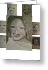 Sketching Oprah Greeting Card