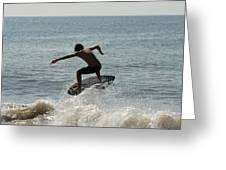 Skimboarding 56 Greeting Card