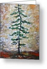 Skinny White Pine Greeting Card