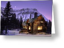 Skoki Cabin Greeting Card