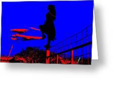 Sky Dancer Greeting Card