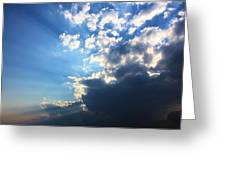 Sky Drama Greeting Card