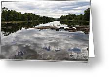 Sky In The Water Greeting Card
