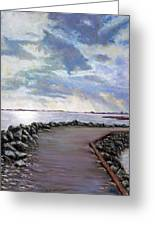 Sky Shore A Greeting Card by Peter Jackson