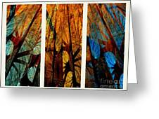 Sky-trees Montage Greeting Card