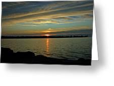 Sky Waves Greeting Card