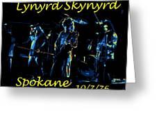 L S  In Spokane 1 Greeting Card