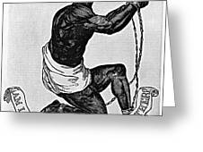 Slavery: Abolition, 1835 Greeting Card