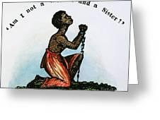Slavery: Woman, 1832 Greeting Card