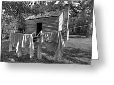 Slave's Quarters Greeting Card