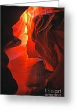 Slot Canyons - 502 Greeting Card