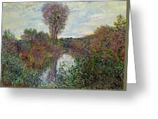 Small Branch Of The Seine Greeting Card