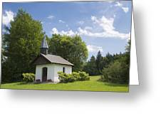 Small Chapel In Bavaria Greeting Card